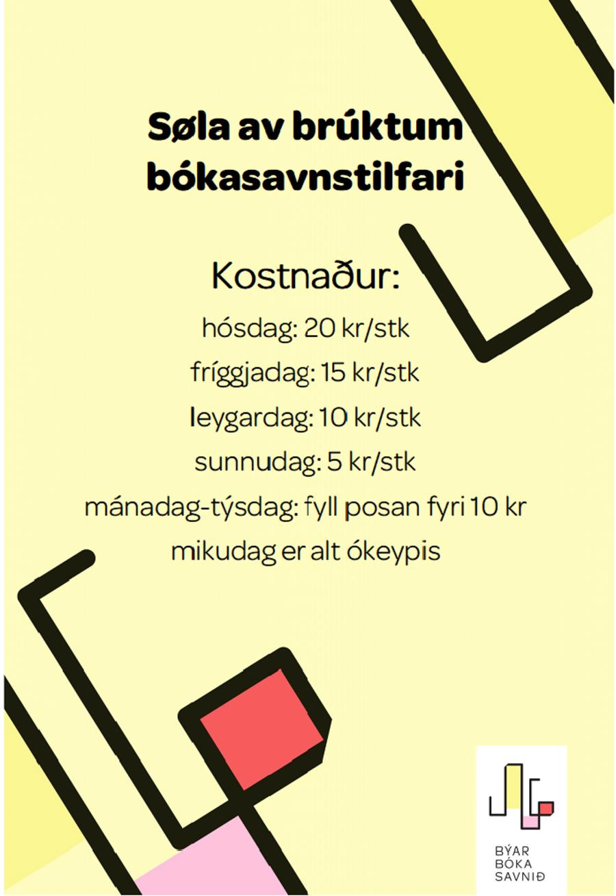 Bókasøla
