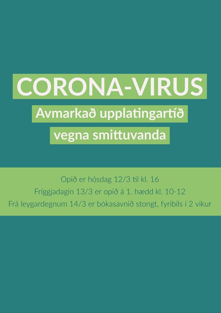 Stongt vegna corona-virus